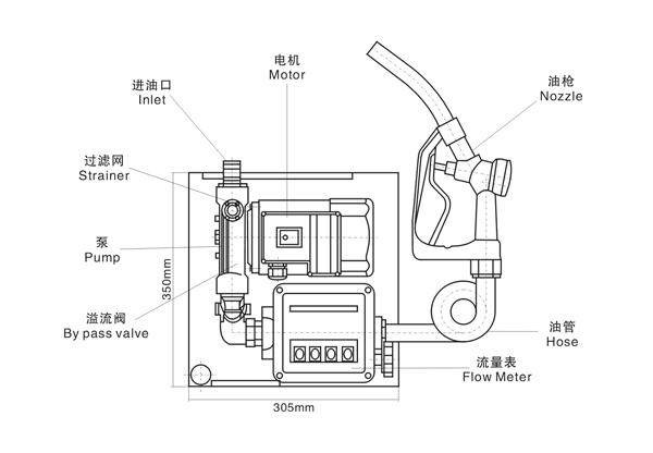 etp-80加油机结构图